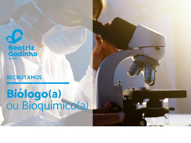 BIO TON 05 2021 - Biólogo/Bioquímico (M/F)