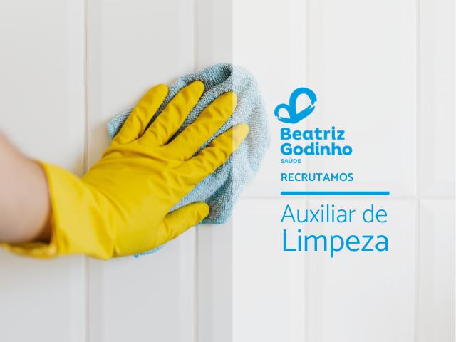 LIMP 05 2021 - Auxiliar de Limpeza (m/f) - Coimbra